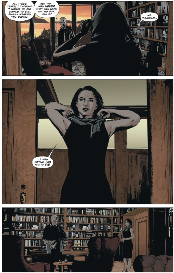 Abigail Carlyle makes an appearance in Lazrus: Risen #3