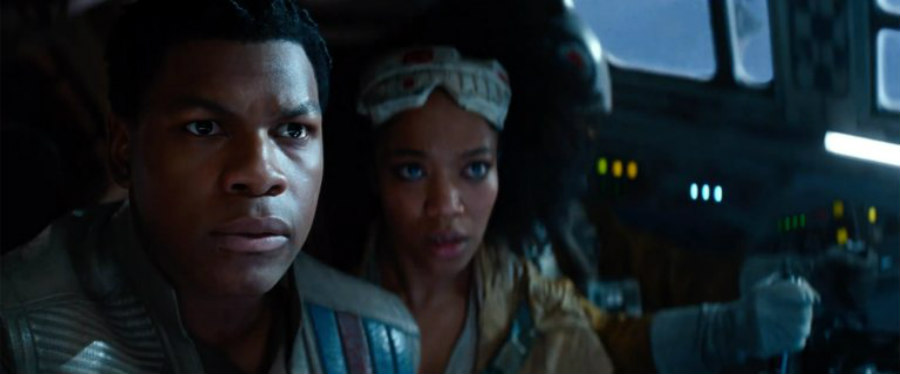 Poe and Jannah in Rise of Skywalker.