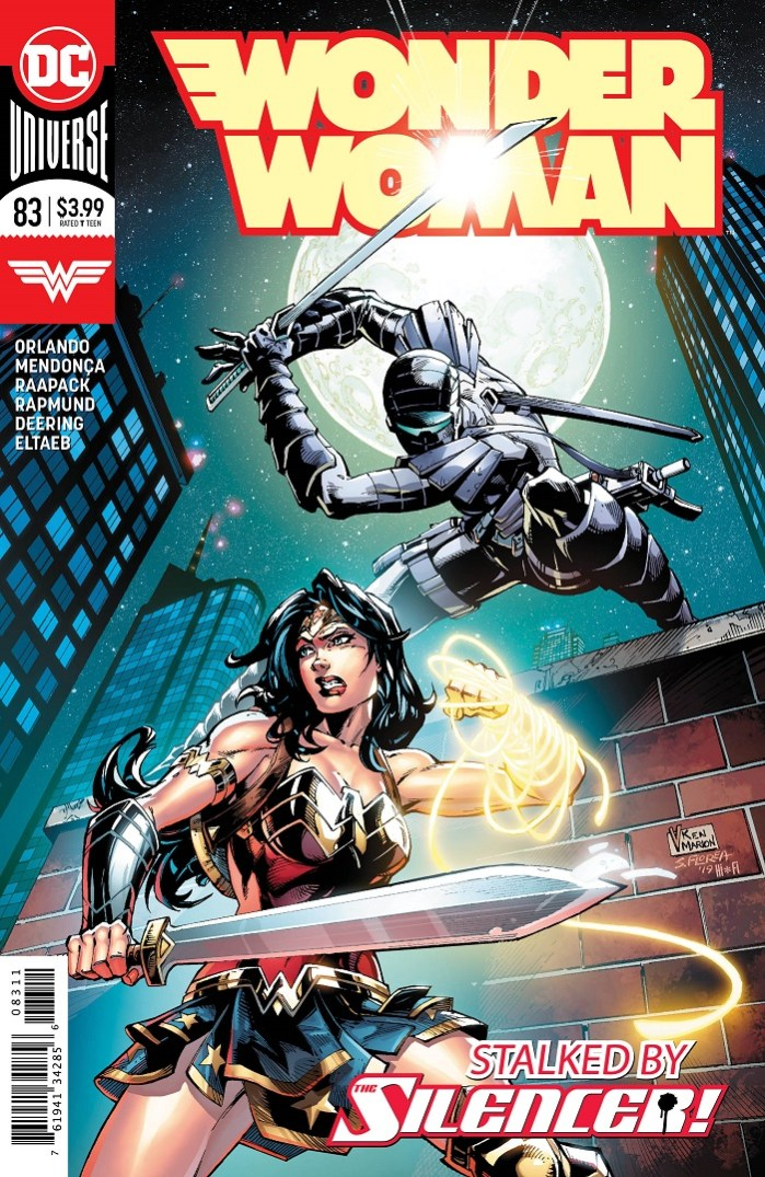Wonder Woman #83, Cover.