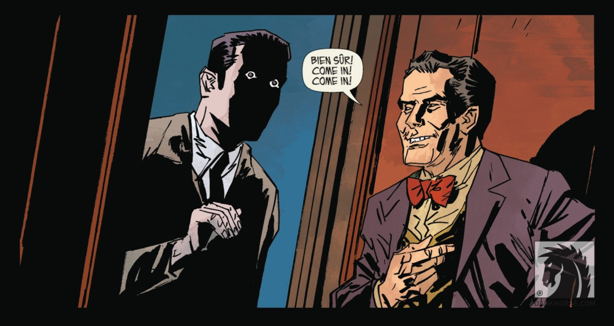 The face of evil in The Butcher of Paris #1.