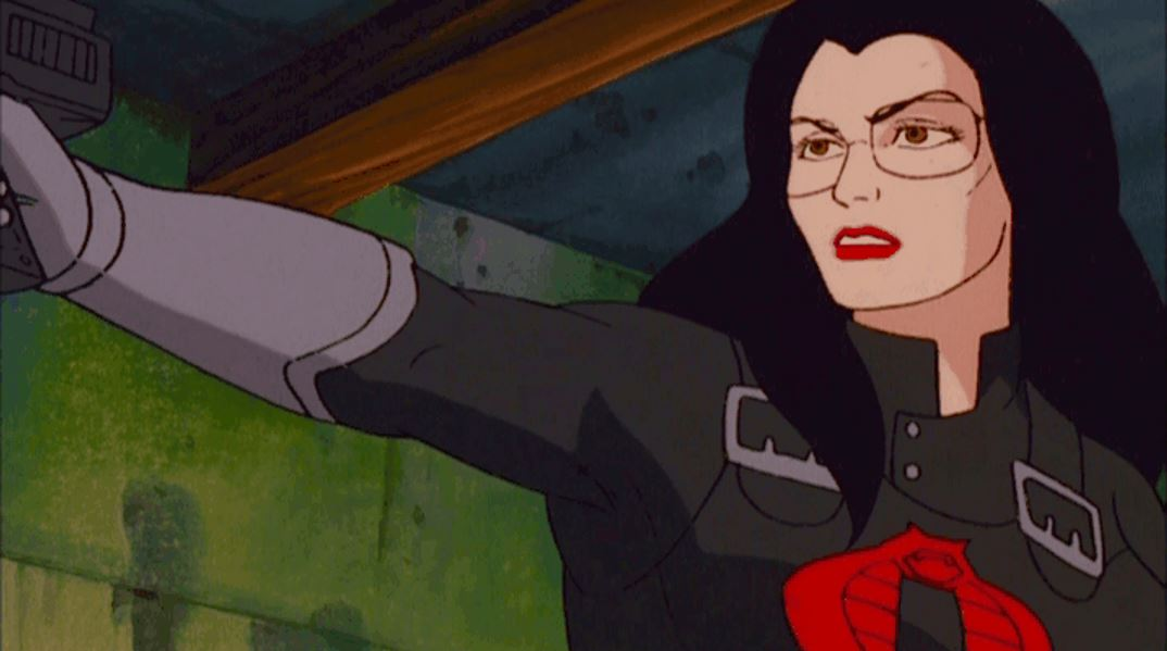 The Baroness as she appears in the Sunbow cartoon.