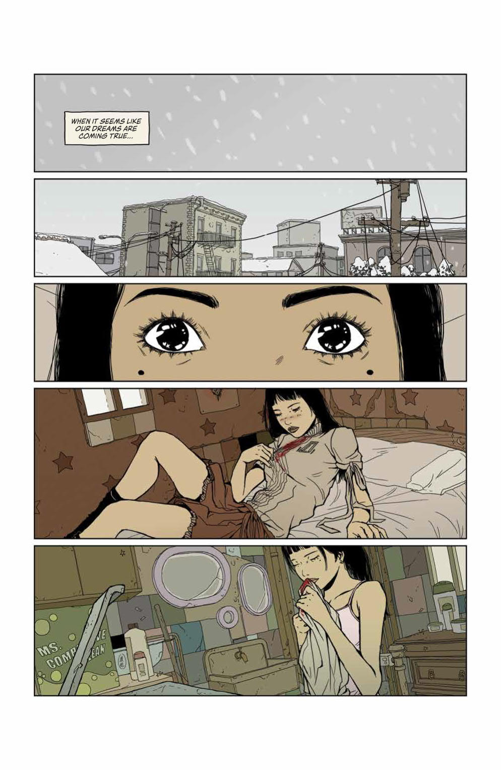 Page #4 of Heartbeat #3
