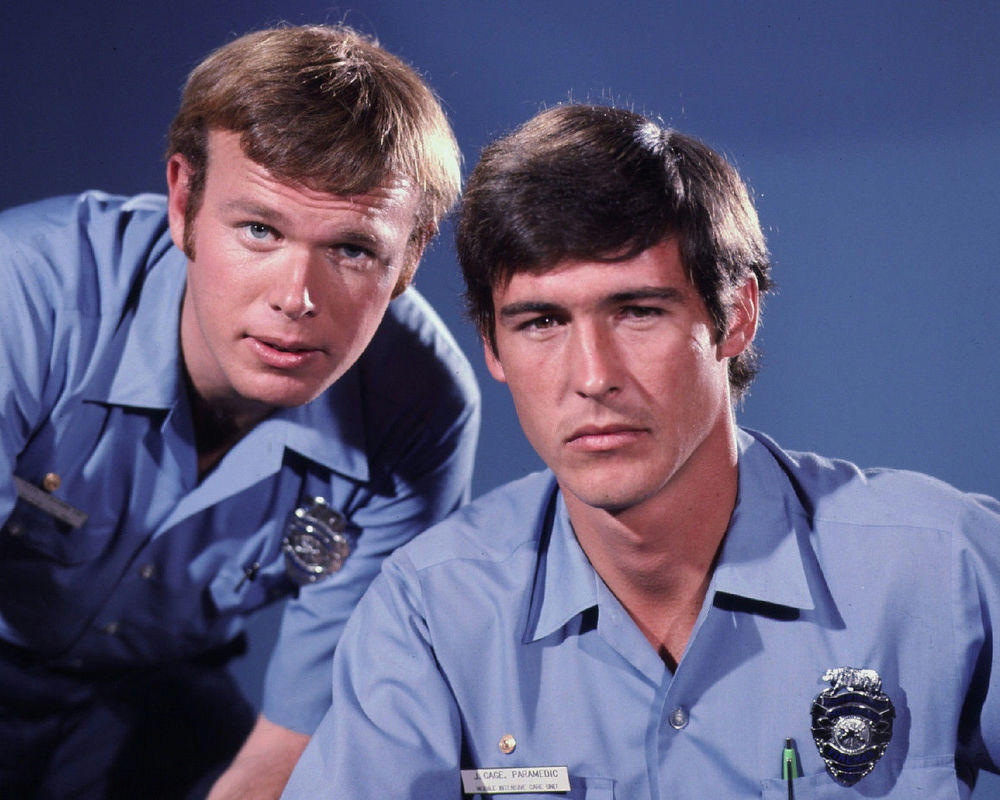 Cast members from Emergency!, a 70s shows equivalent to the Chicago Fire/Med shows