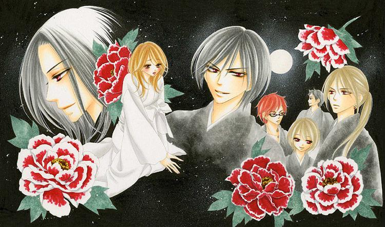 image showcasing the fantasy/dramatic elements this manga has.