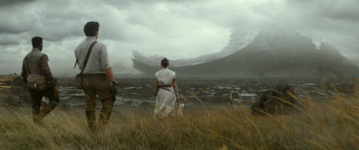 JediStormPilot adventure - Rey, Finn, and Poe find the Death Star wreckage