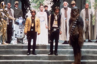 The cast of Star Wars (1977)