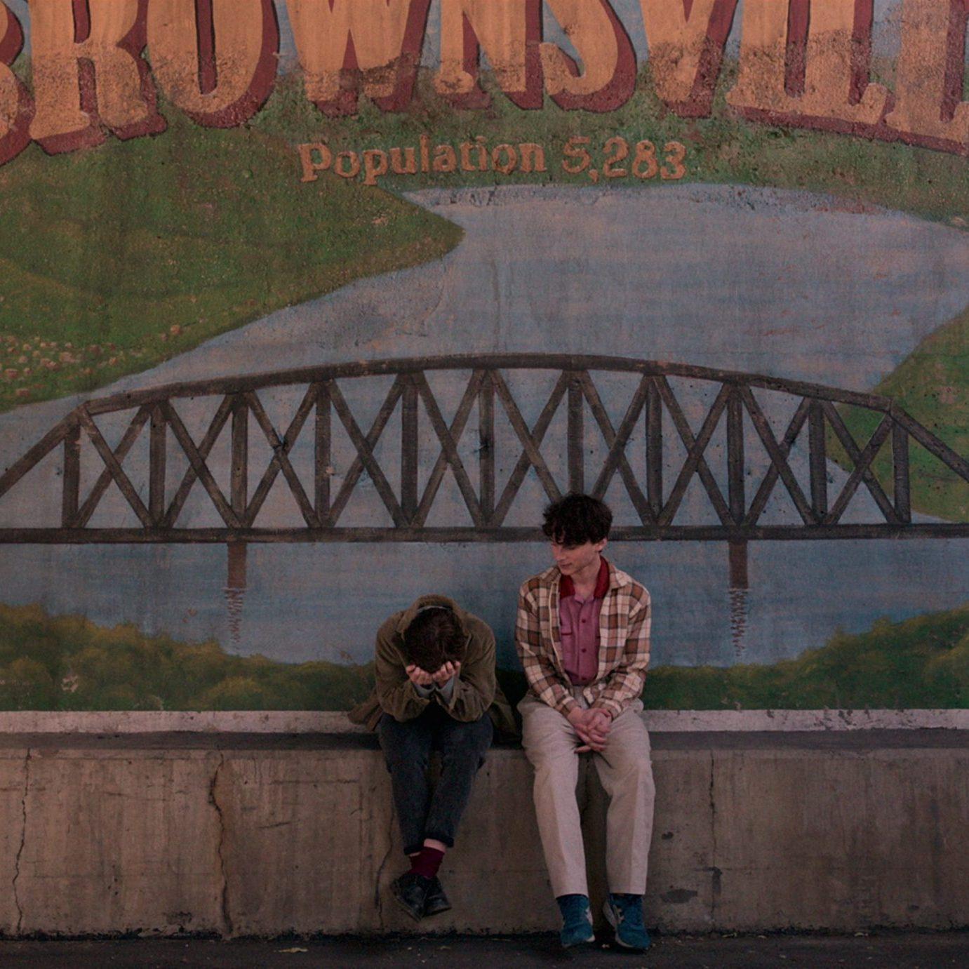 Sophia Lillis & Wyatt Oleff; Courtesy of Netflix (2020)