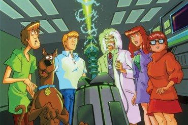 Professor Kaufman and the mystery solving team.