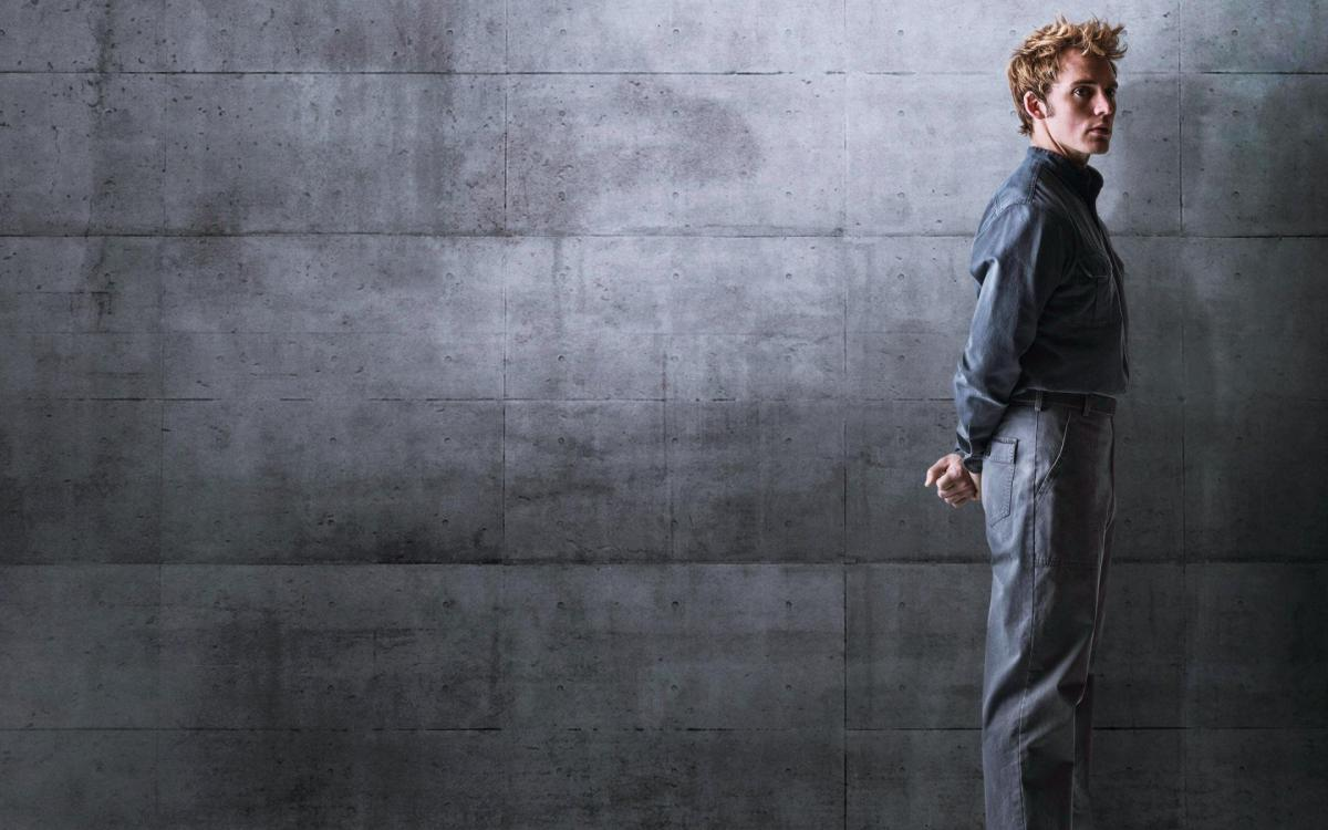 Sam Claflin as Finnick Odair in The Hunger Games: Mockingjay