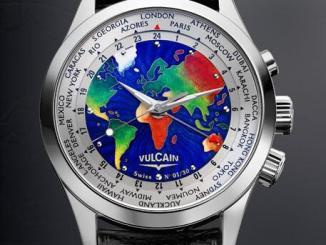 Vulcain Cloisonne The World