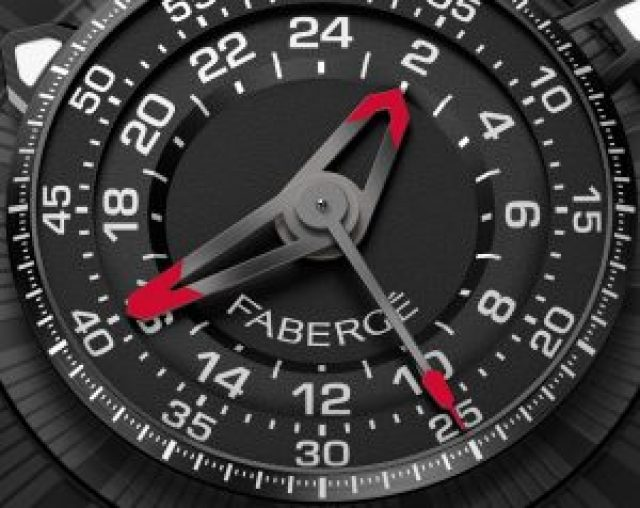 Fabergé Visionnaire Chronograph Ceramic dial