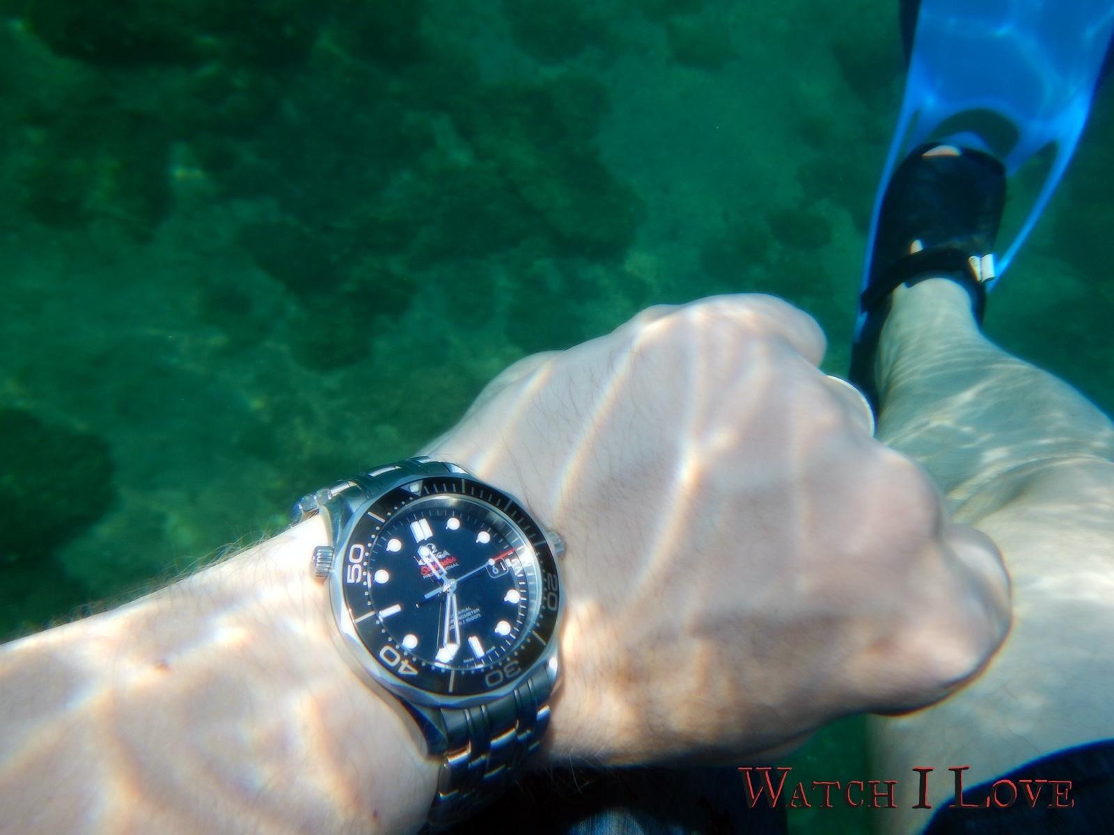 Seamaster Professional snorkelling
