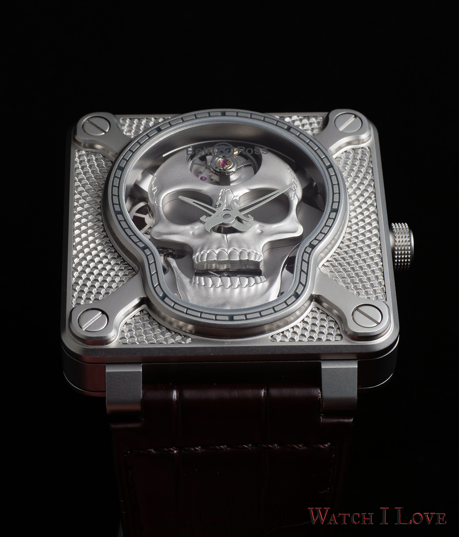 Bell&Ross BR01 Laughing Skull soldat