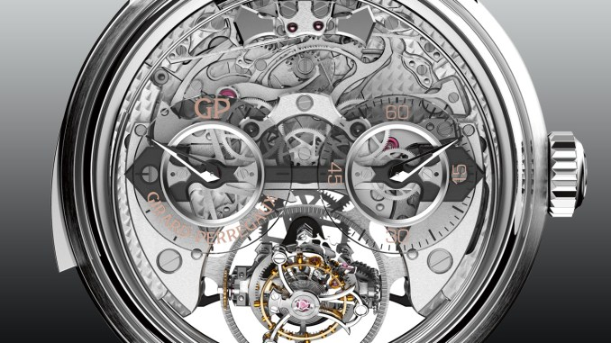 Girard-Perregaux Minute Repeater Tri-Axial Tourbillon