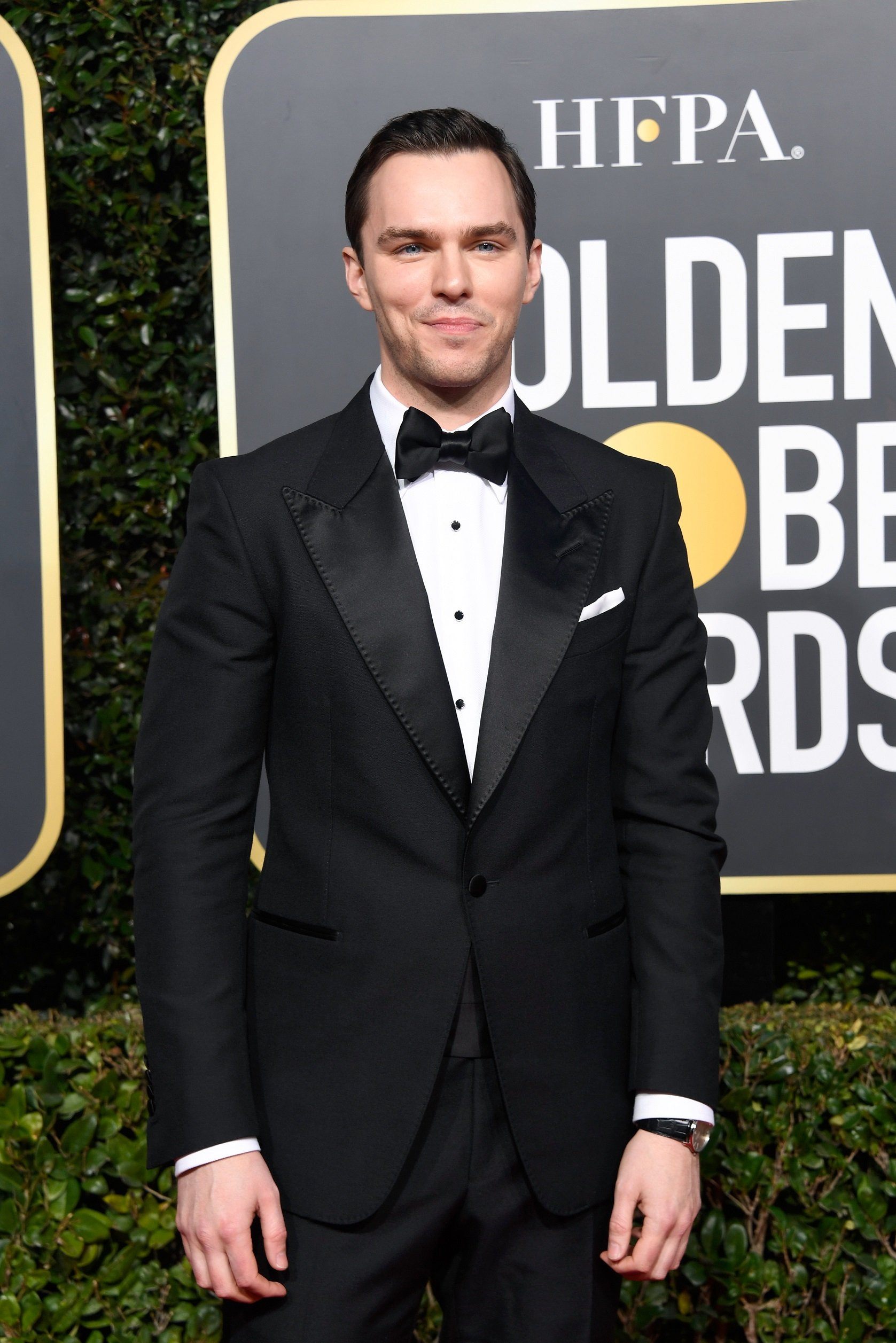 Nicholas Hoult wearing a Master Ultra Thin Date - Getty