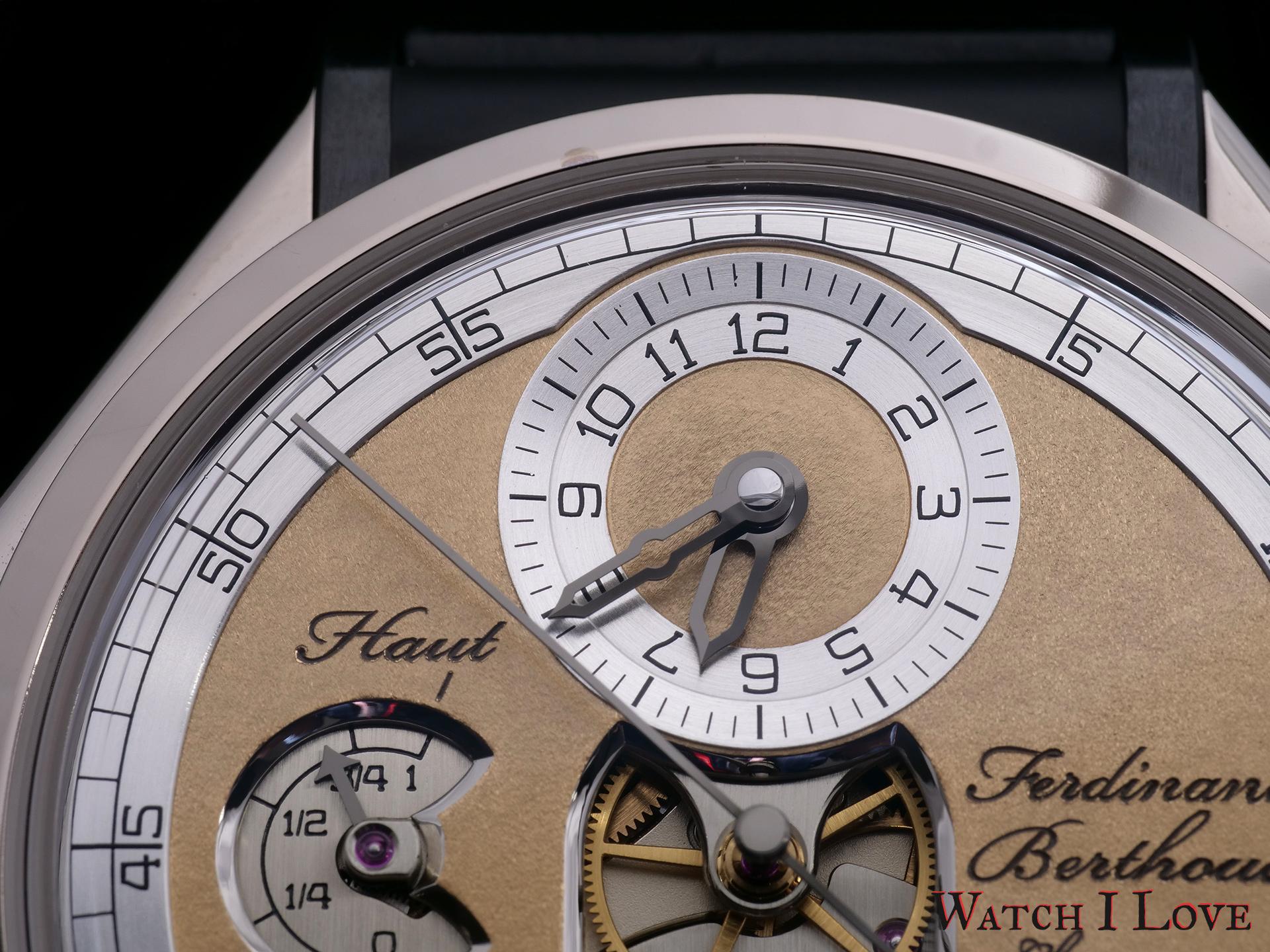 Ferdinand Berthoud Ref. FB 1.1-2 dial