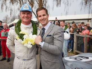Iwc racing team wins the Tony Gaze Trophy at Goodwood