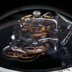 Legacy Machine FlyingT Black Lacquer edition movement detail