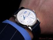 Lange 1 on the wrist