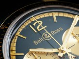 Detail on the top side of the dial