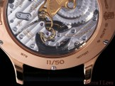 Detail of the back side of the tourbillon