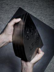 Metal block for case construction