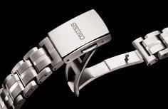 Seiko Astron GSP Solar bracelet and buckle
