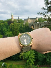 Luxembourg is a green city. The Diver fits perfectly in the surroundings