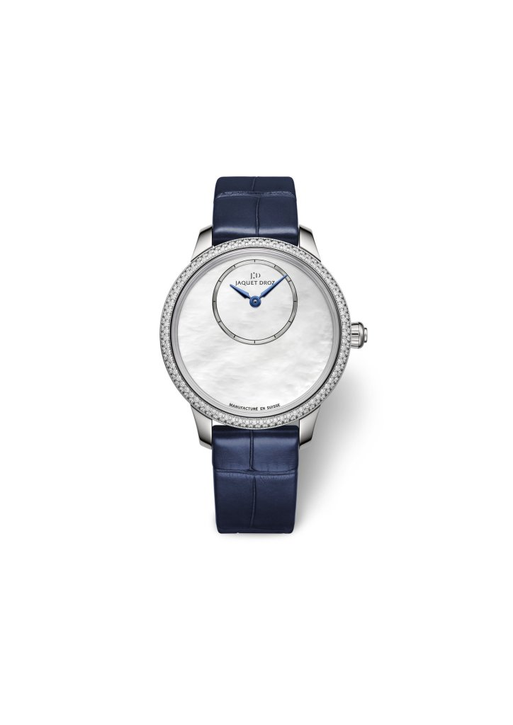 Jaquet Droz Petite Heure Minute Mother-of-Pearl  Ref. J005000274