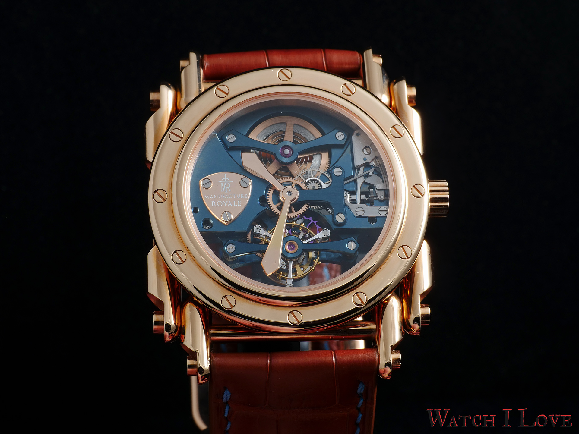 Manufacture Royale Androgyne case