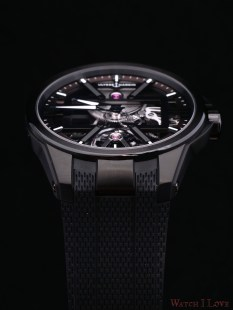 The black DLC titanium Ref. 3713-260-3/BLACK