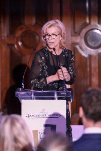 Juliet Stevenson at Jaeger-LeCoultre Gala dinner in London @gettyimages