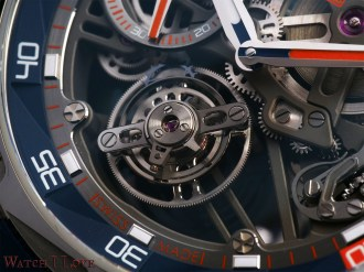 Another view of the tourbillon