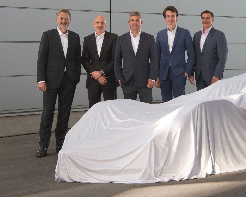 Detlev von Platen, Stéphane Bianchi, Fritz Enzinger, Frédéric Arnault, Michael Steiner