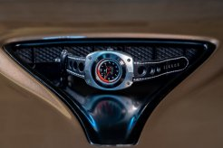 Blasta Watch Scuderia Veloce, silver arrow. Photo taken on the hood of a Alfa Romeo Montreal. ©2019 Blasta Watch Ltd. All Rights reserved.