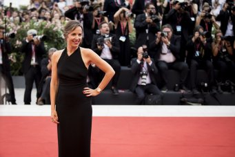 CEO of Jaeger-LeCoultre Catherine Rénier wearing Dazzling Rendez-Vous at the 76th Venice International Film Festival ©getty