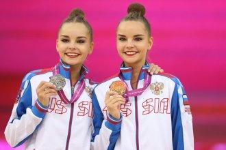 Unstoppable Longines Ambassadors of Elegance Arina and Dina Averina at the 37th Rhythmic Gymnastics World Championships