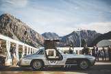 "AROSA, SWITZERLAND – 01. September 2019: The IWC Racing Team showed up on the grid of the 15th Arosa ClassicCar for the second time. Bernd Schneider drove the Mercedes-Benz 300 SL ""Gullwing"" on the winding 7.3 kilometre hill-climb route from Langwies to Arosa. (Photo by Matthieu Bonnevie for IWC)"