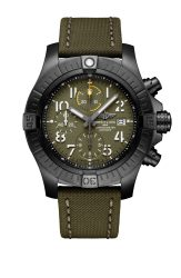 avenger-chronograph-45-night-mission-in-dlc-coated-titanium-with-green-dial-and-khaki-green-leather-military-strap-1