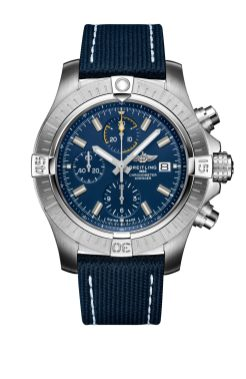 avenger-chronograph-45-stainless-steel-with-blue-dial-and-blue-leather-military-strap-1