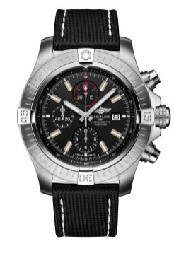 super-avenger-chronograph-48-night-mission-in-stainless-steel-with-black-dial-and-anthracite-leather-military-strap-1