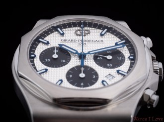 Girard-Perregaux_Laureato_Chronograph_dial_soldat