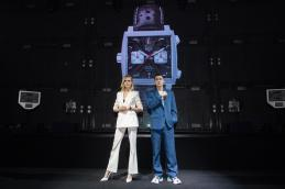 Monaco 5th limited editon launch in Shanghai_Launch moment_Cara Delevingne+Li Yifeng