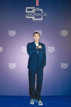 Monaco 5th limited editon launch in Shanghai_Li Yifeng