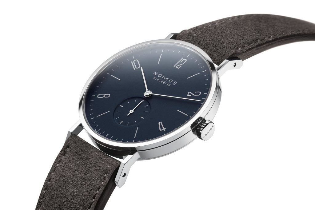 Nomos Tangente 38 midnight blue