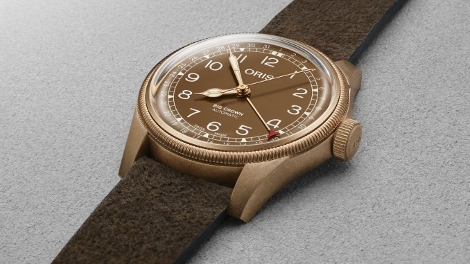 Oris Big Crown Bronze Pointer Date