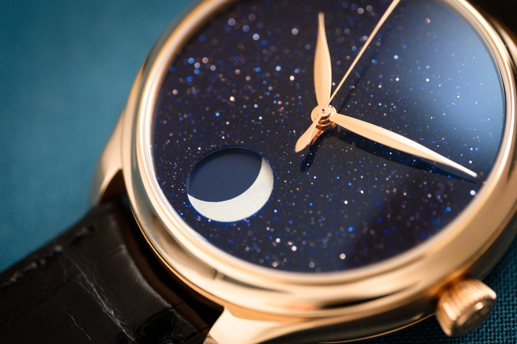H. Moser & Cie. Endeavour Perpetual Moon Concept Aventurine