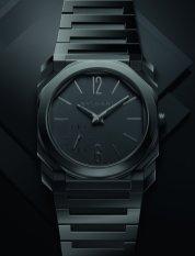 Octo Finissimo Automatic black sandblast-polished ceramic 103368