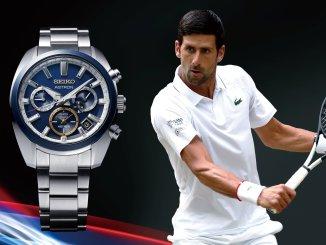 Seiko Astron GPS Solar Novak Djokovic 2020 Limited Edition