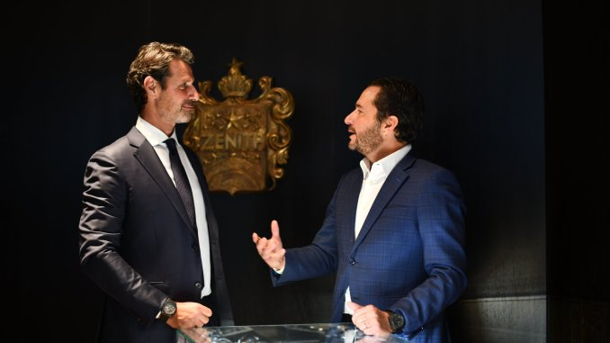 Patrick Mouratoglou joins Zenith